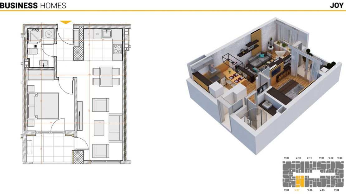 Joy Apartment in BUSINESS HOMES